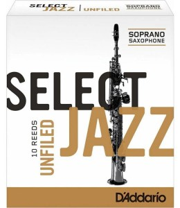 D'ADDARIO SELECT JAZZ UNFILED - stroik do saksofonu sopranowego 2H