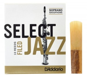 D'ADDARIO SELECT JAZZ FILED - stroik do saksofonu sopranowego 3M