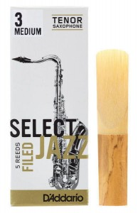 D'ADDARIO SELECT JAZZ FILED - stroik do saksofonu tenorowego 3M