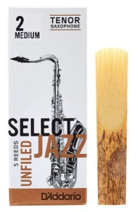 D'ADDARIO SELECT JAZZ UNFILED - stroik do saksofonu tenorowego 2M