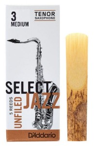 D'ADDARIO SELECT JAZZ UNFILED - stroik do saksofonu tenorowego 3M